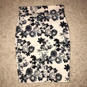 Ultra Flirt Stretch Floral Skirt